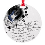 musician2.png Round Ornament