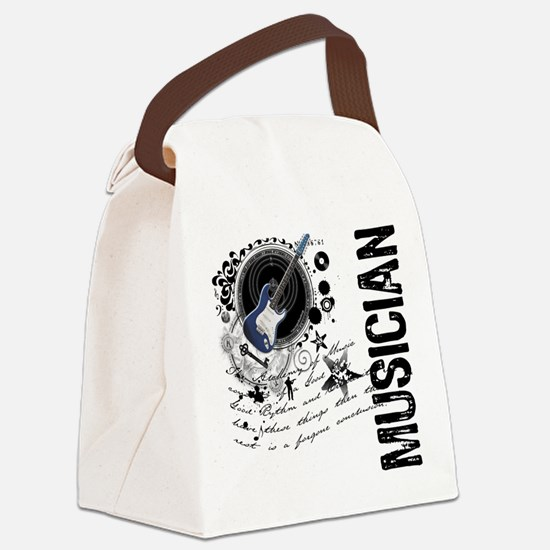 3-musician1.png Canvas Lunch Bag