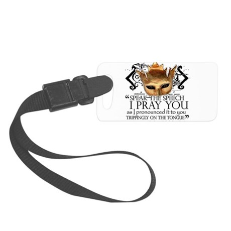 Shakespeare Quotes Small Luggage Tag