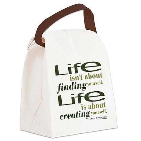 georgebernardshaw1-1.png Canvas Lunch Bag