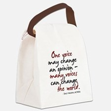 opinion2.png Canvas Lunch Bag