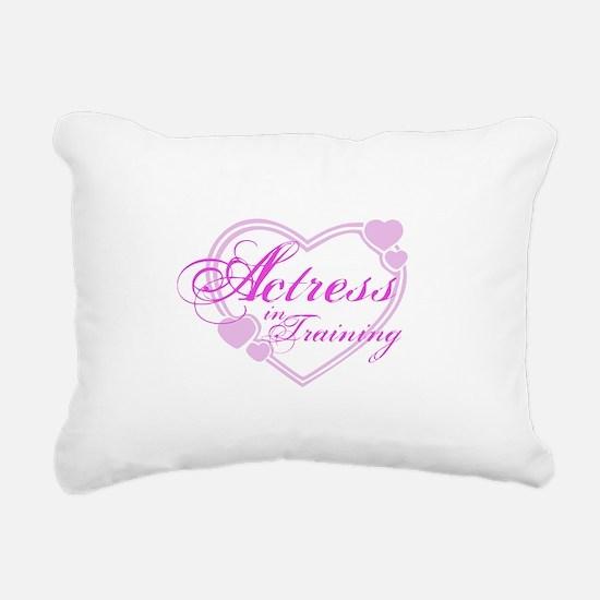 kids-tshirt-actress1.png Rectangular Canvas Pillow
