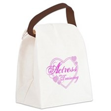 kids-tshirt-actress1.png Canvas Lunch Bag