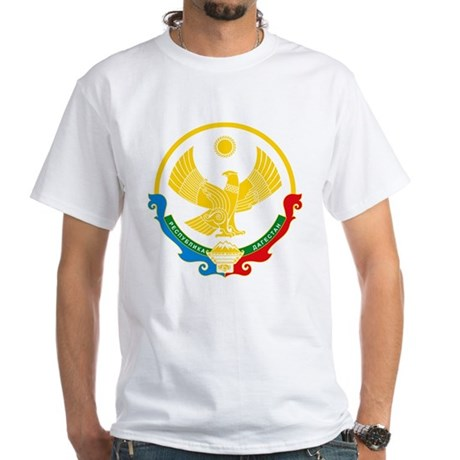 Dagestan Coat of Arms White T-Shirt