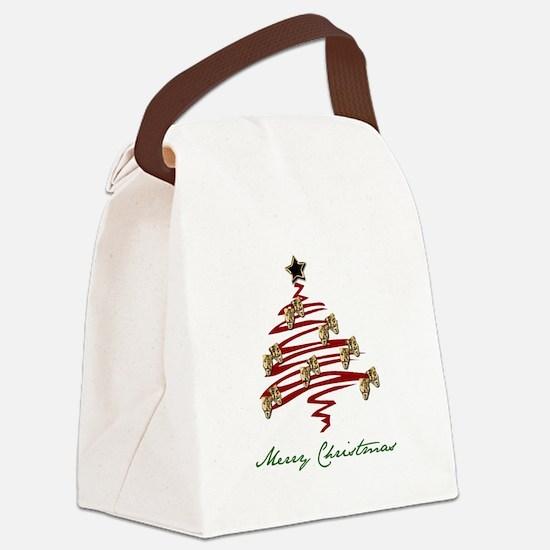 Drama Tree Canvas Lunch Bag
