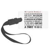 Actress Luggage Tags