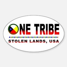 One Tribe Oval Decal
