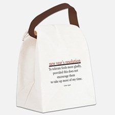 newyearsresolution.png Canvas Lunch Bag