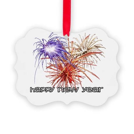 happynewyear-black.png Picture Ornament