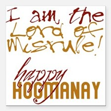 "hogmanay-LordofMisrule.png Square Car Magnet 3"" x"