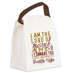 TwelfthNight.png Canvas Lunch Bag