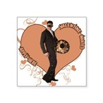 3-valentine-wanted-male.png Square Sticker 3