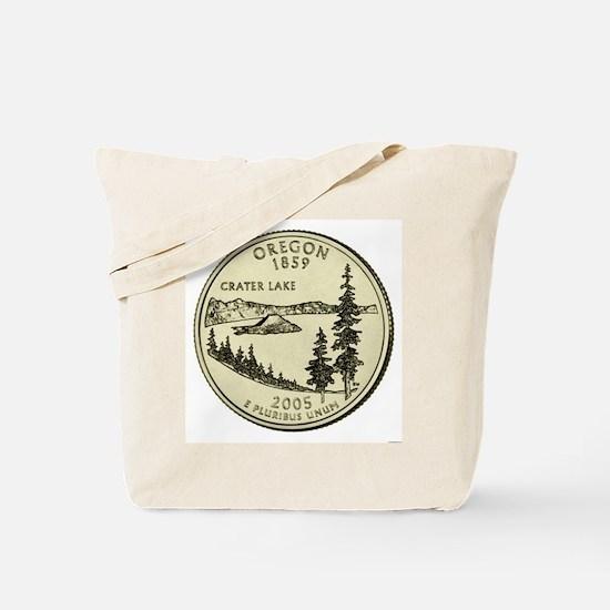 Oregon Quarter 2005 Basic Tote Bag