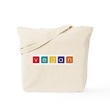 Vegan Blocks Tote Bag