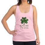 kiss-me-irish1-dark.png Racerback Tank Top