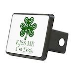 kiss-me-irish1-dark.png Rectangular Hitch Cover