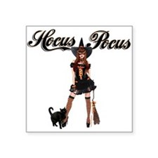 "Hocus-Pocus-T-shirt.png Square Sticker 3"" x 3"""