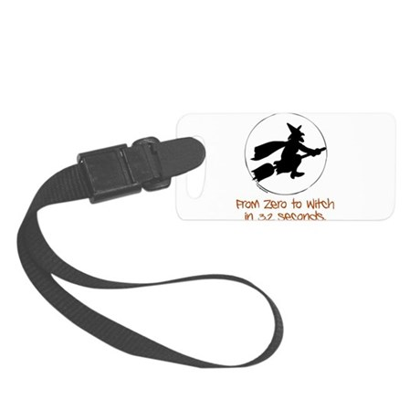 Zero to Witch Small Luggage Tag