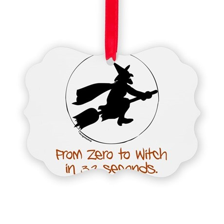 Zero to Witch Picture Ornament
