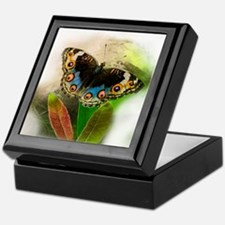 Pretty Little Butterfly Keepsake Box