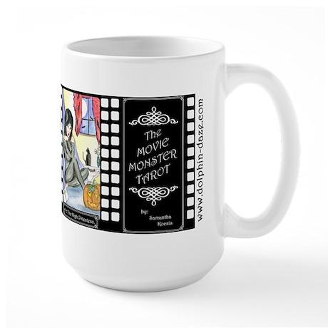 Movie Monster Tarot Large Mug