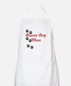 Rescue Dog Mom Apron