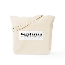 Vegetarian Cooler Tote Bag