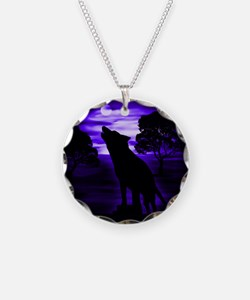 Wolf Howling copy.png Necklace