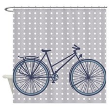 Bike Shower Curtain