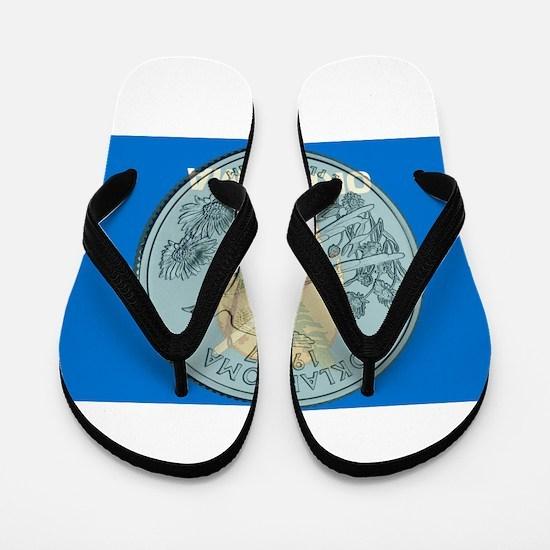 Oklahoma Quarter 2008 Flip Flops