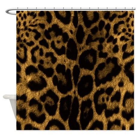 Jaguar Print Shower Curtain