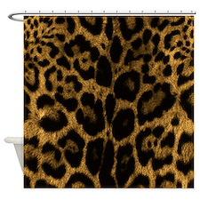 Jaguar Print Shower Curtain