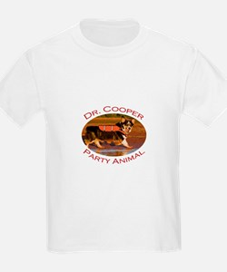 Dr. Cooper...Party Animal T-Shirt