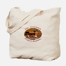Dr. Cooper...Party Animal Tote Bag