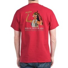 luau Girl dark color T-Shirt