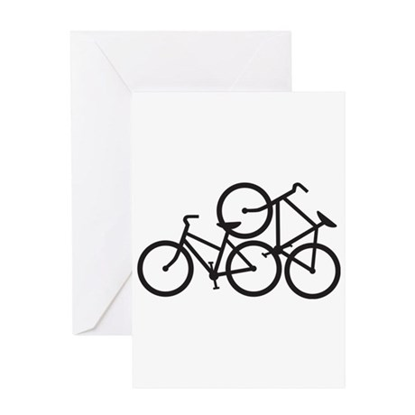 Bike Love Greeting Card