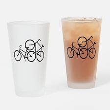 Bike Love Drinking Glass