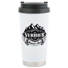Verbier Mountain Emblem Travel Coffee Mug