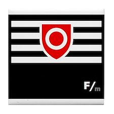 BDSM Ownership Flag Tile Coaster