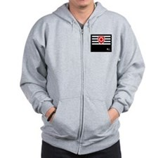 BDSM Ownership Flag Zip Hoodie