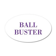 ball buster Wall Decal