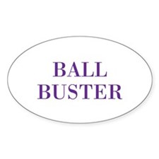 ball buster Decal