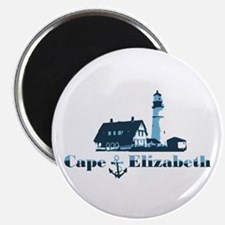 Cape Elizabeth ME - Lighthouse Design. Magnet