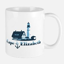 Cape Elizabeth ME - Lighthouse Design. Mug