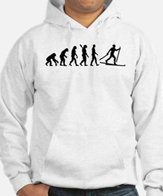 Evolution Cross country skiing Hoodie