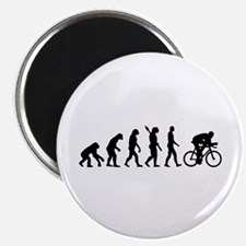 "Evolution cycling bike 2.25"" Magnet (10 pack)"