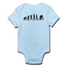 Evolution cycling bike Infant Bodysuit