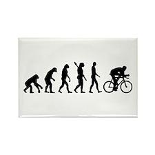 Evolution cycling bike Rectangle Magnet
