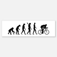 Evolution cycling bike Bumper Bumper Sticker