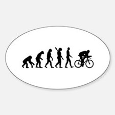 Evolution cycling bike Bumper Stickers
